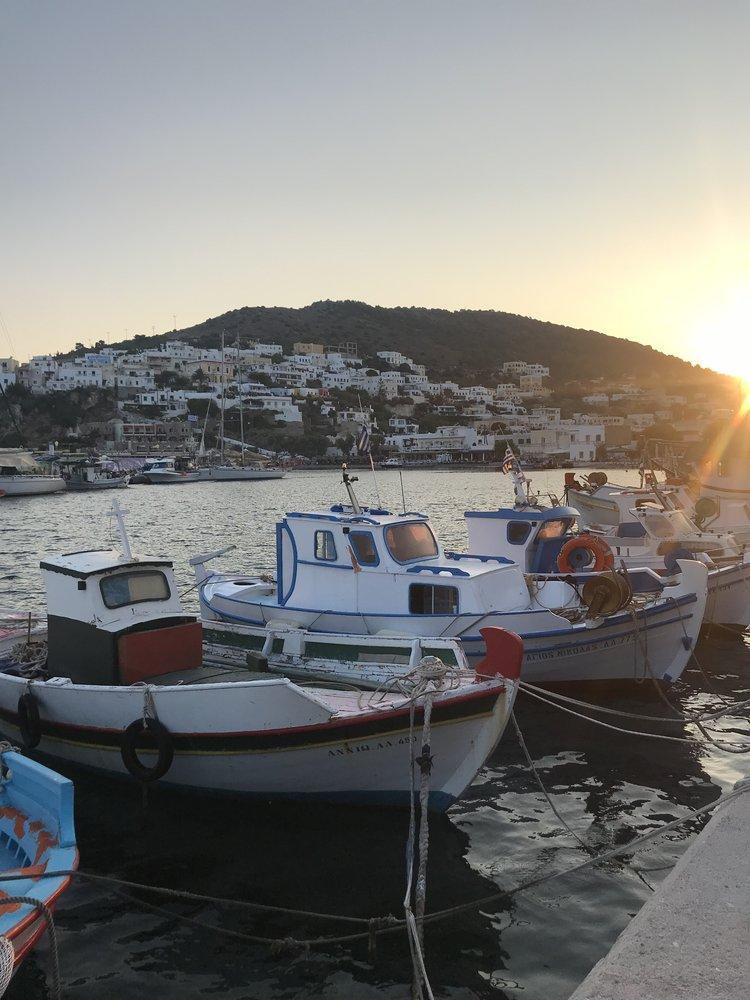 Wenn die Fischer bei Capri....ähm Kalymnos, Lipsi oder Patmos...