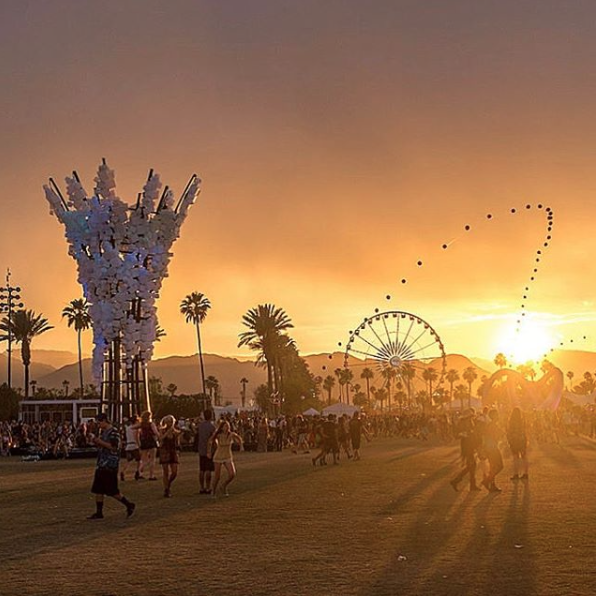 Zum Feiern in die Wüste - Coachella is calling for Ala Zander