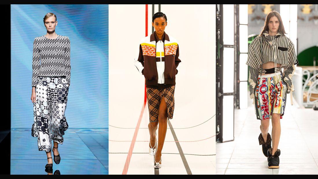 Giorgio-Armani, MIU MIU & Louis Vuitton (v.l.n.r.) Foto: womenshealth