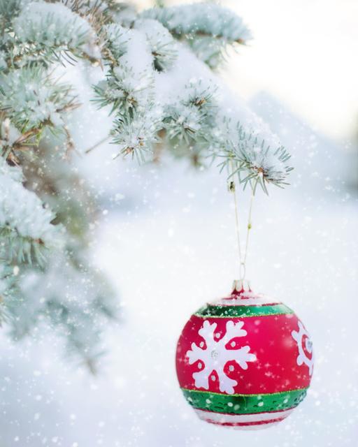 Frohe Weihnachten! Viel Glück im neuen Jahr