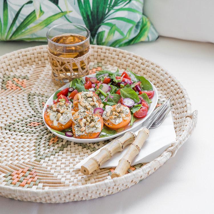 Saisonrezept Juli - Sommerlicher Aprikosensalat