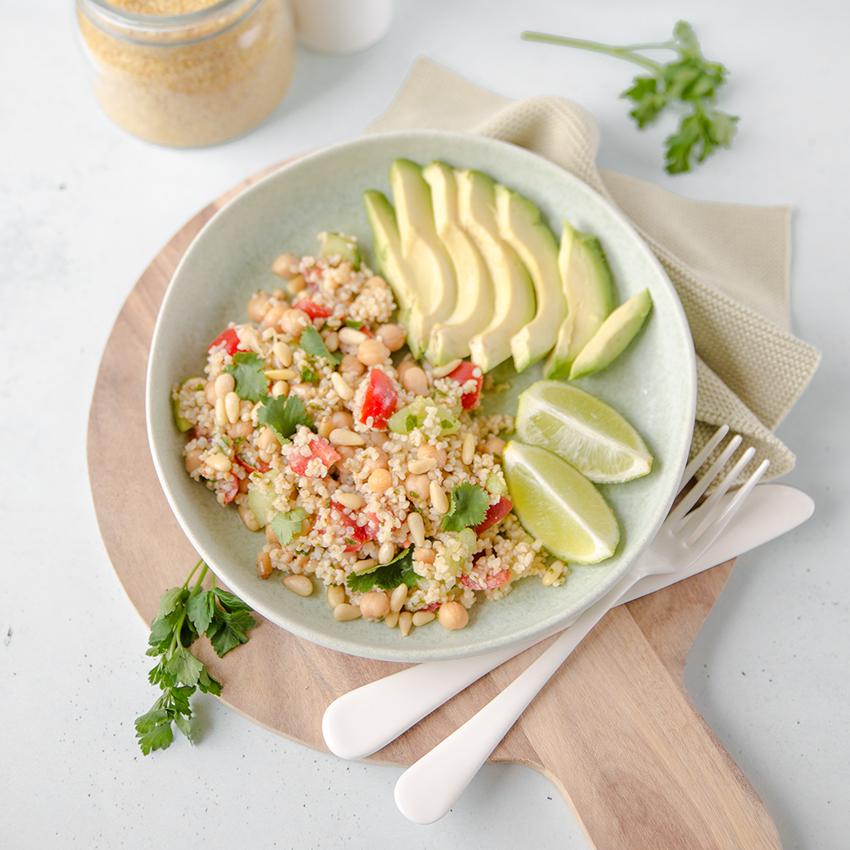Saisonrezept April - Bulgur Salat