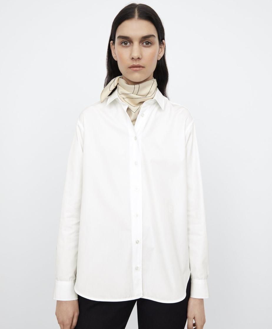 Toteme Signature cotton shirt white - 240 EUR