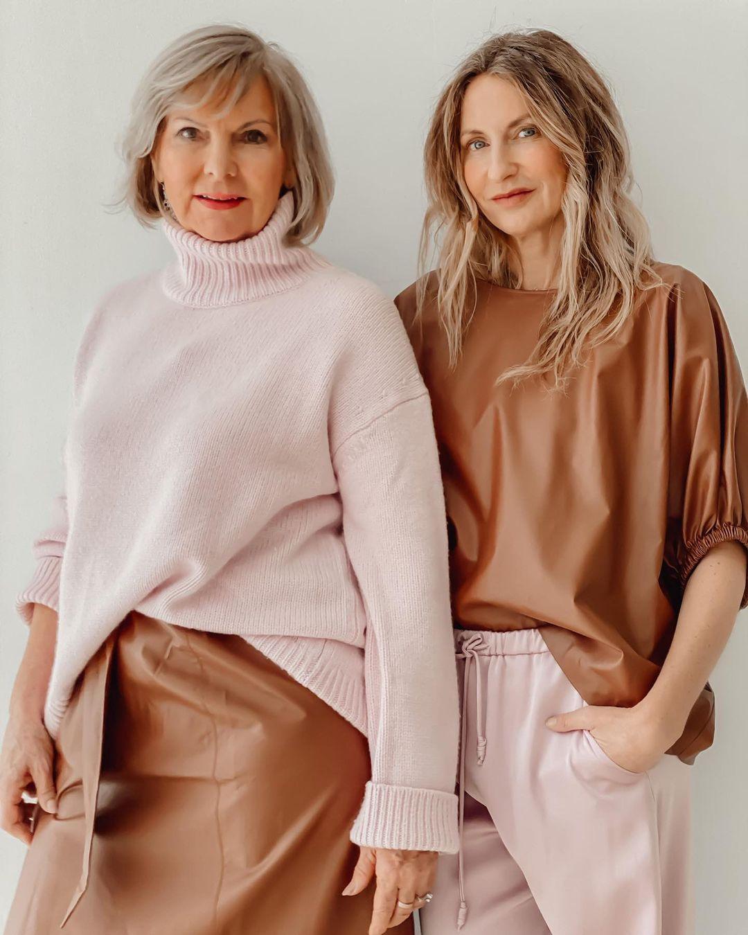 Sue und ihre Mama Helga