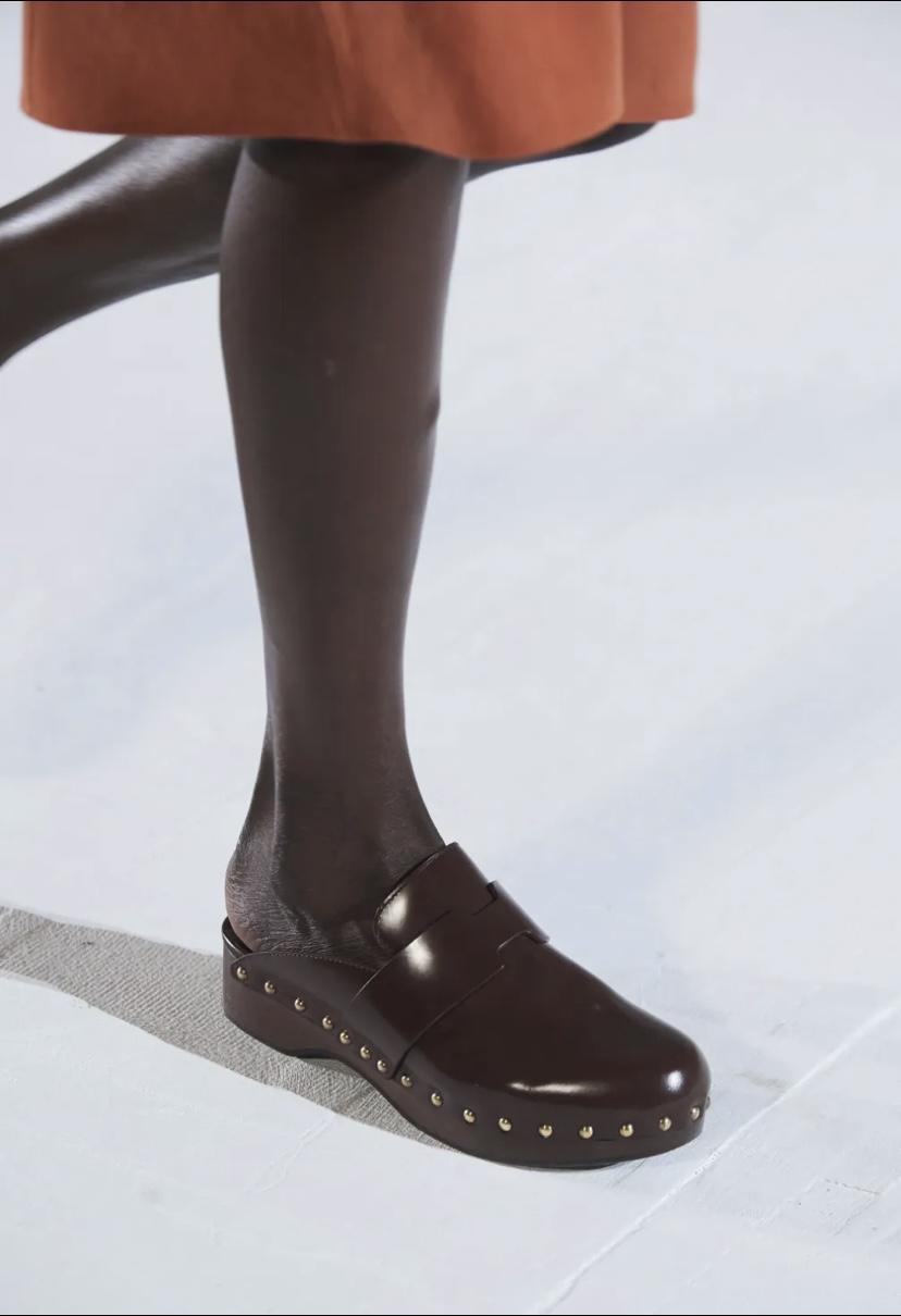 Hérmes Clogs; Foto: Vogue