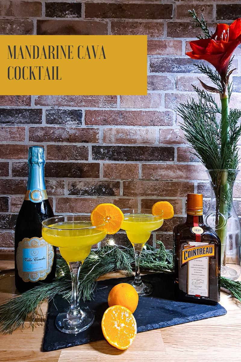 Cocktail des Monats - Mandarine Cava Cocktail