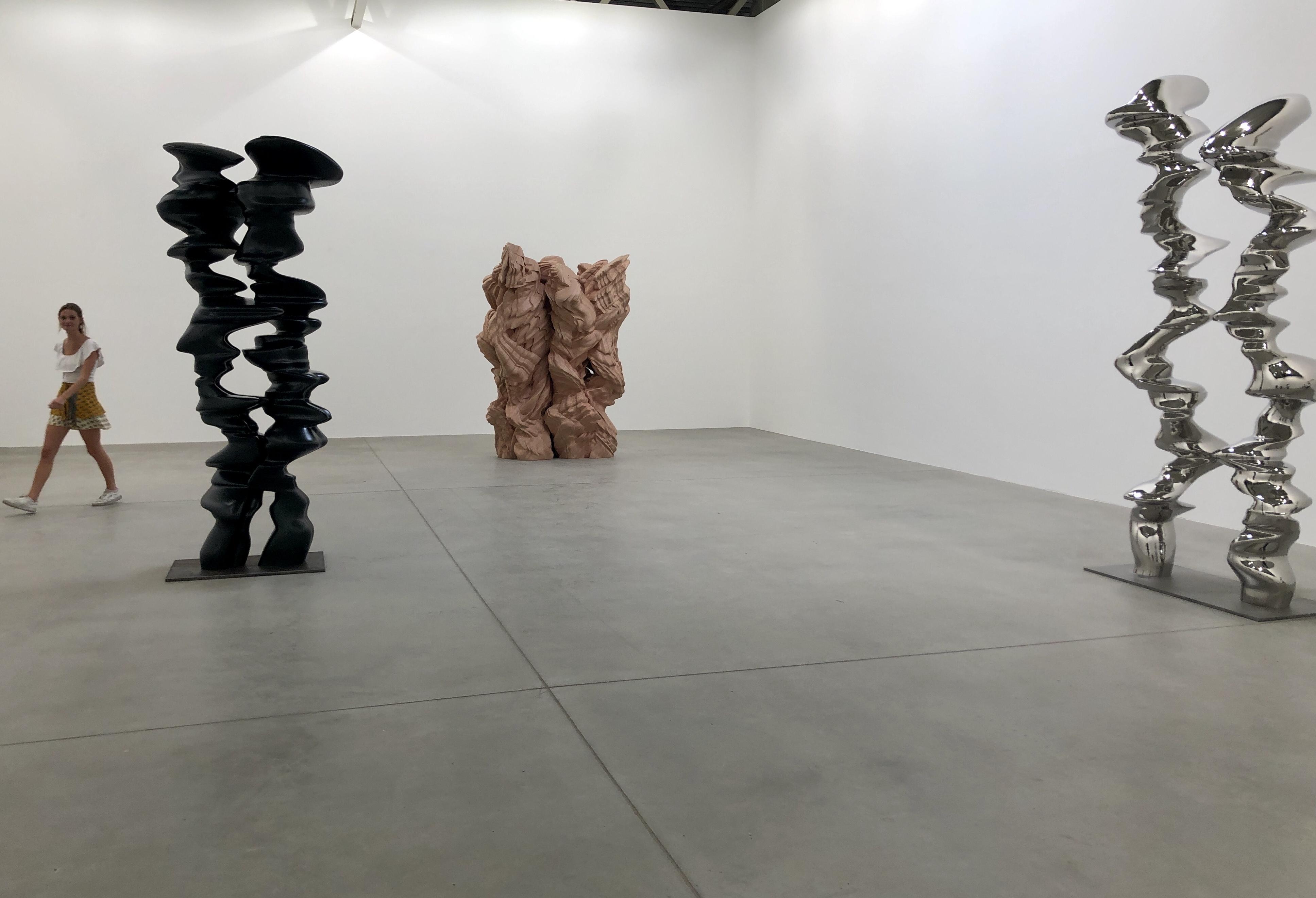 Tony Cragg Inhabitants-Skulpturen in der Halle Ropac