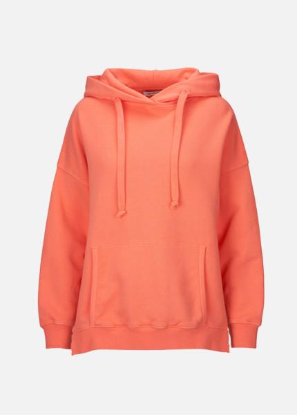 Hoodie Neon Koralle