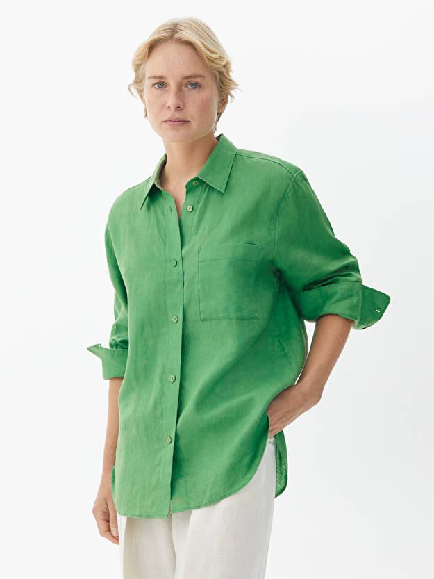 Arket Leichtes Leinenhemd - 59 Euro