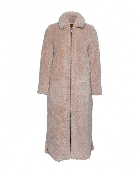 Lambswool Coat Beige