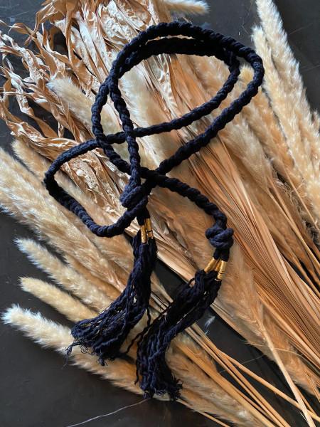 Yvonne S. Cord Belt - Black