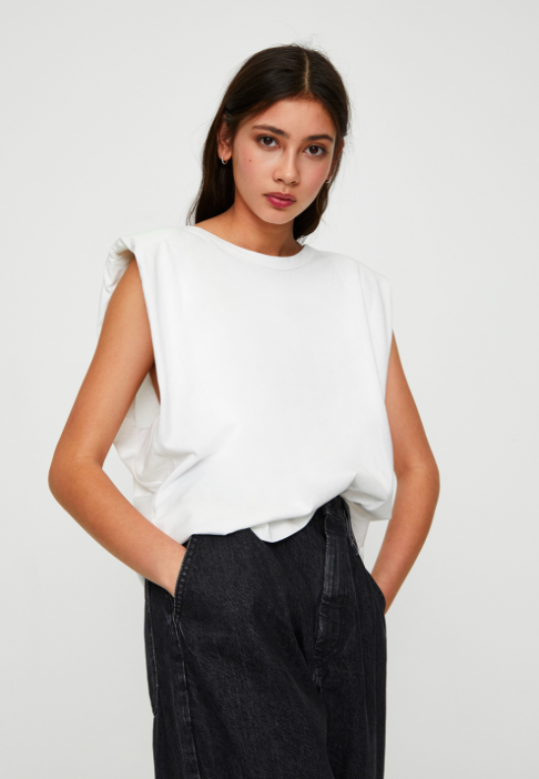 PULL&BEAR MIT SCHULTERPOLSTER - Top 15,99 €