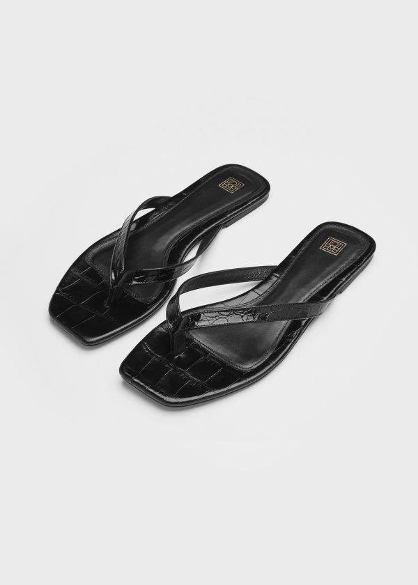 The Flip-Flop Flat black- 267 EUR