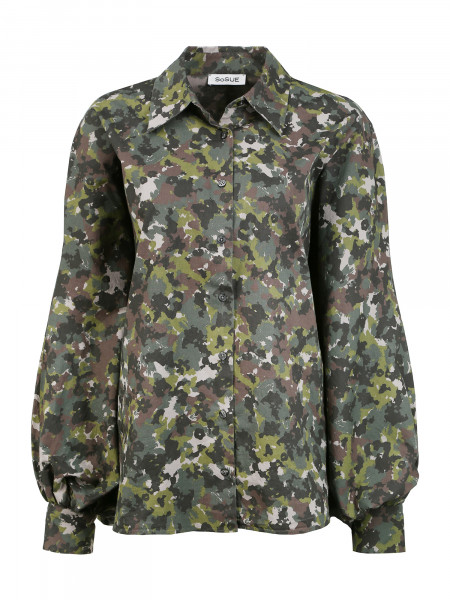 Bluse Antonia Camouflage
