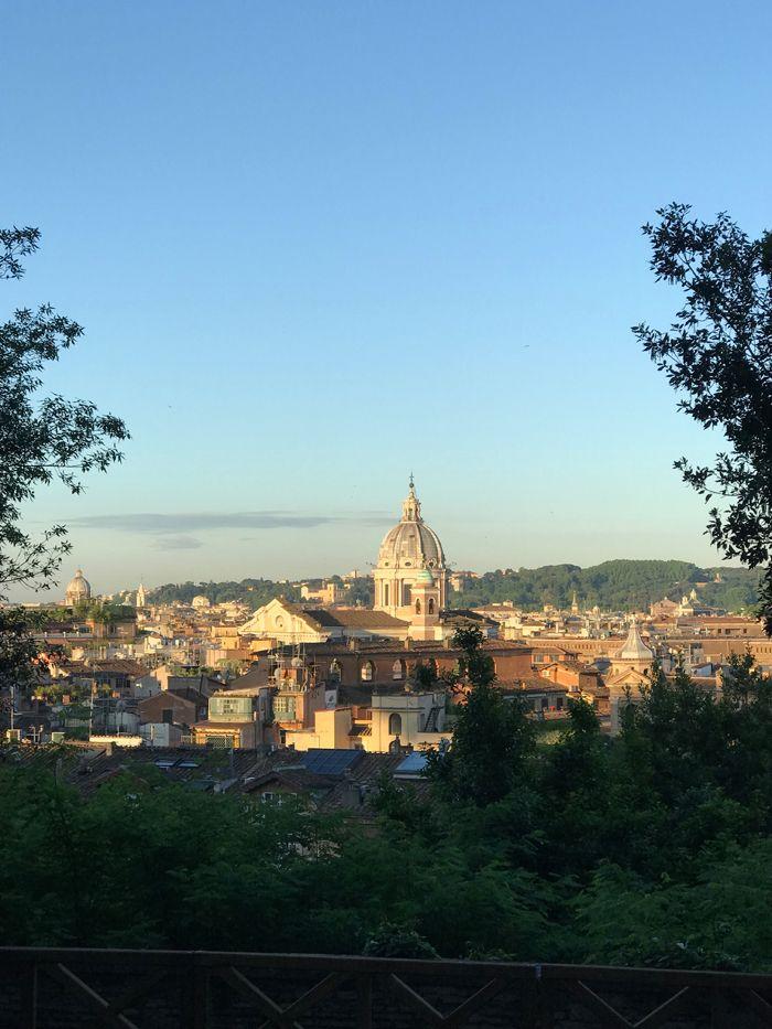 Rom sehen und für immer bleiben