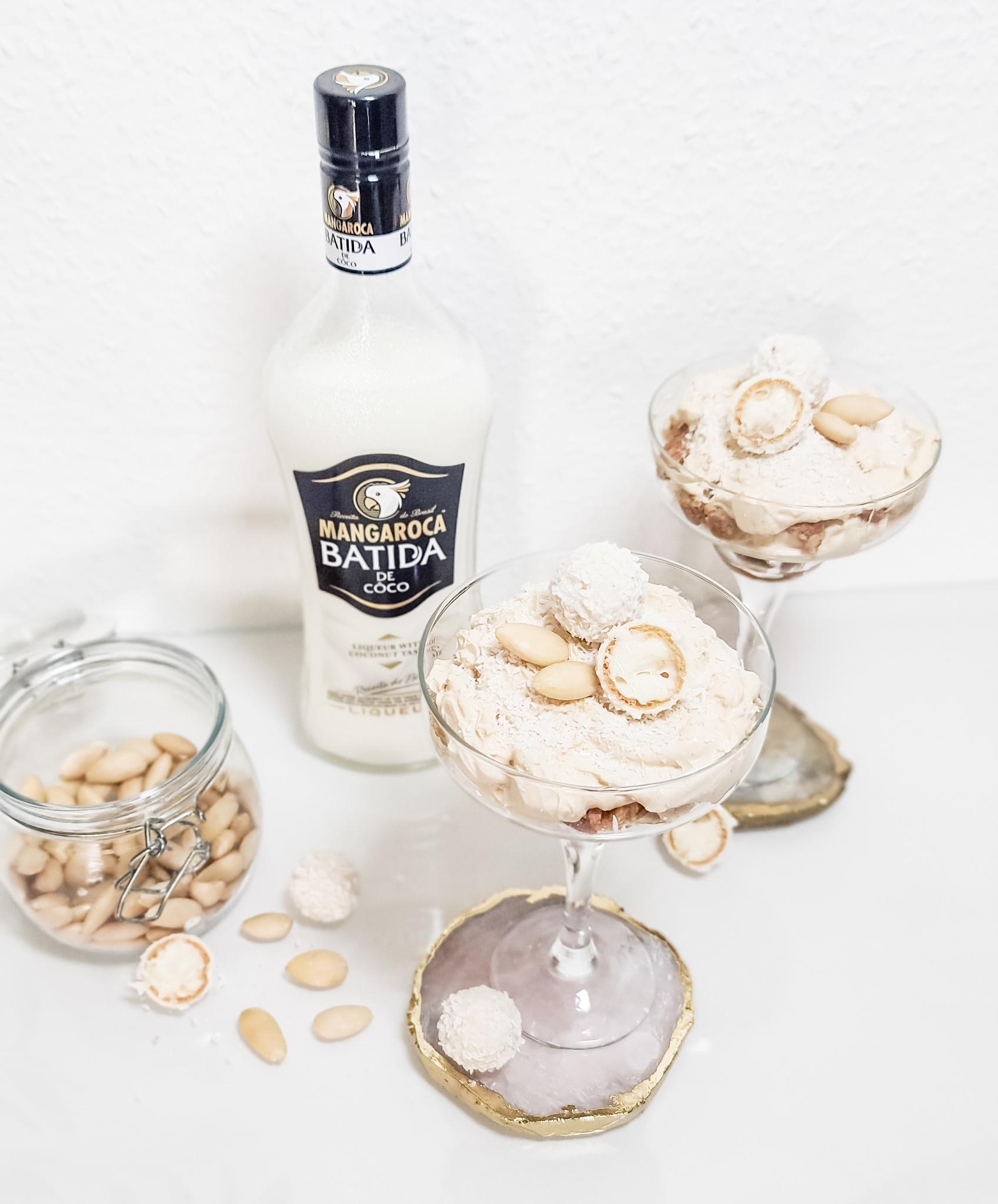 Drink des Monats - Batida de Coco Cheesecake im Glas