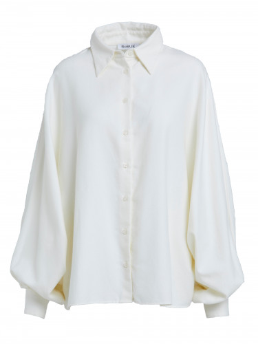 Bluse Antonia Flanell Off White