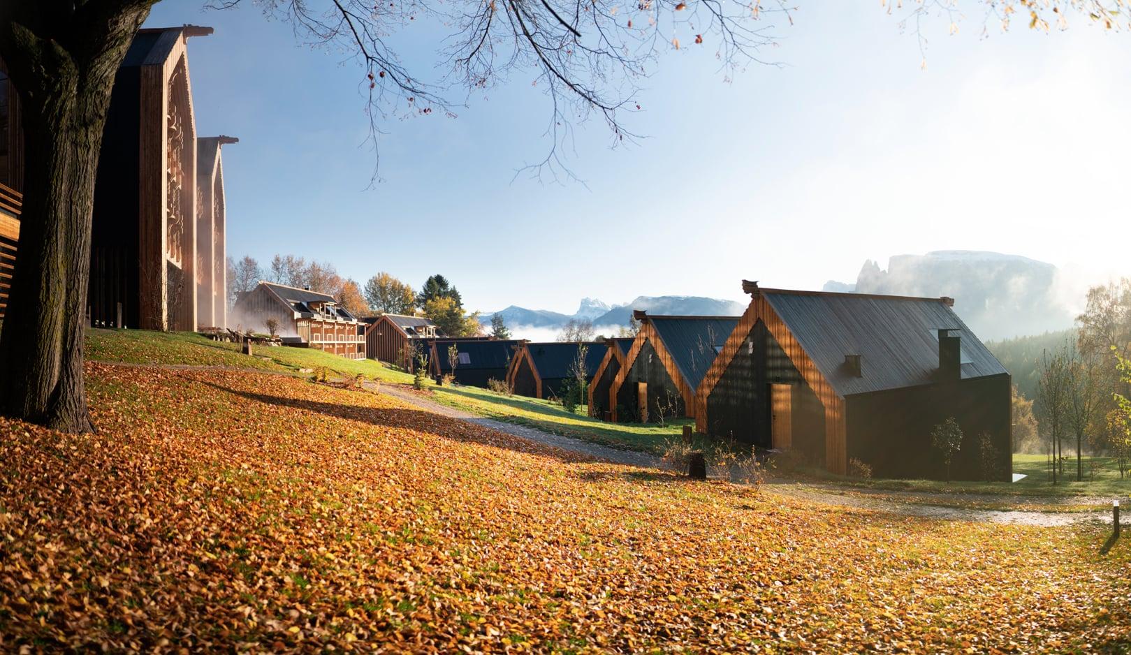 Schönster Herbst in Südtirol