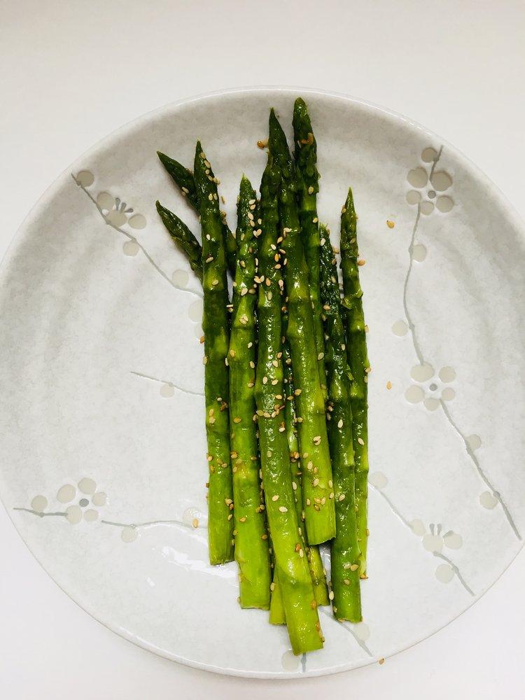 Saisonrezept April - Grüner Spargel