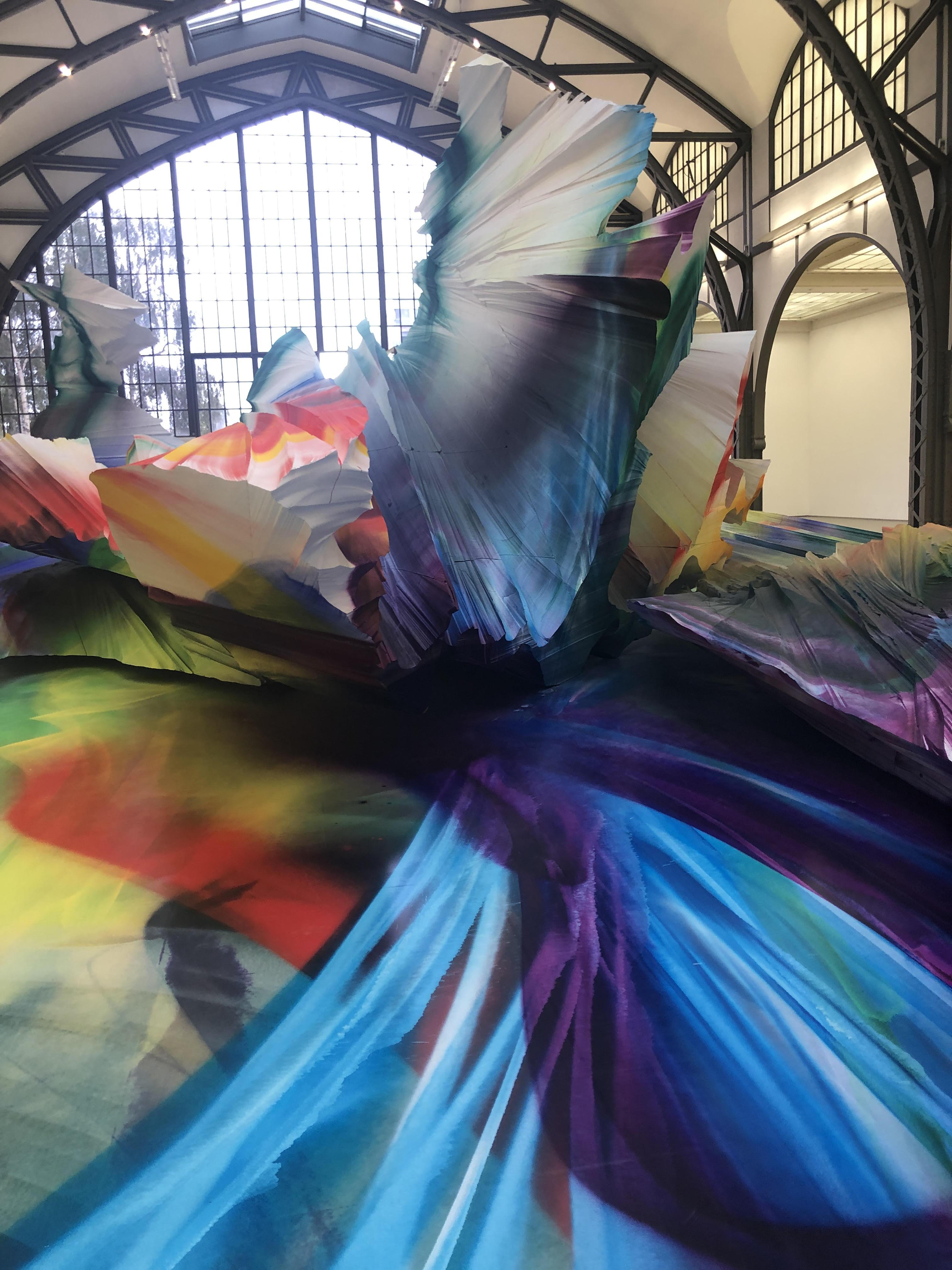 Farbenrausch mit Katharina Grosse