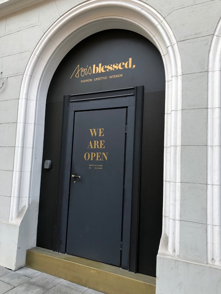 """Sois Blessed - Der """"Werte Store"""" in München"""