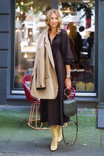 Kleid Hippie Black