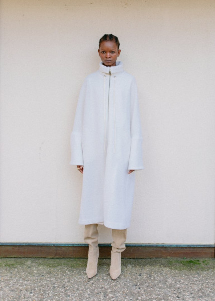 Tent Coat OffWhite